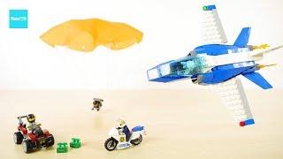 レゴ シティ パラシュート逮捕 60208   /   LEGO City Sky Police Parachute Arrest