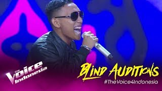 Antonio - Cukup Siti Nurbaya   Blind Auditions   The Voice Indonesia GTV 2019