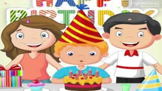 Урок 9 Англійська мова 1 клас. Happy birthday! Частина 1.