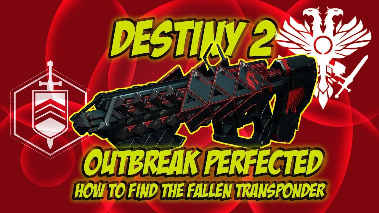 How to get the Outbreak Perfected and find the Nodes  Destiny 2