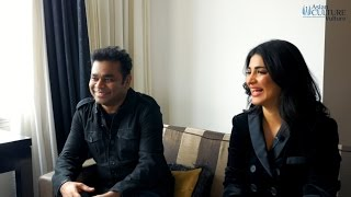 Sangamithra Movie launch - AR Rahman & Shruti Haasan Exclusive Interview | Cannes 2017