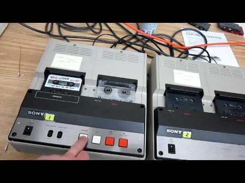 Sony Cassette Duplicator Ccp-110.MOV
