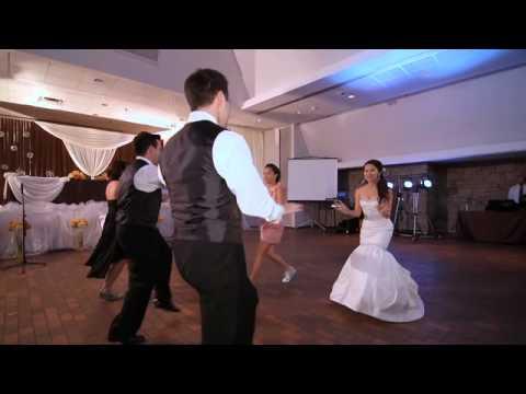 Sophia Matts Hip Hop Wedding Entrance Dance Youtube