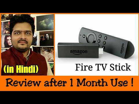 b4b836b5075f Amazon Fire Tv Stick in Hindi | unboxing | review | tips | use ...