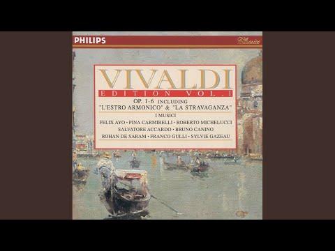 """Vivaldi: 12 Violin Concertos, Op.4 - """"La Stravaganza"""" / Concerto No. 7 In G Major, RV 185 - 1...."""