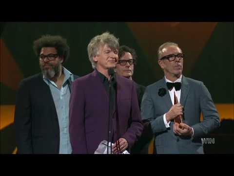 Crowded House ARIA Hall of Fame Induction 2016