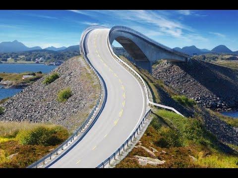 Norwegia Droga Atlantycka 2014