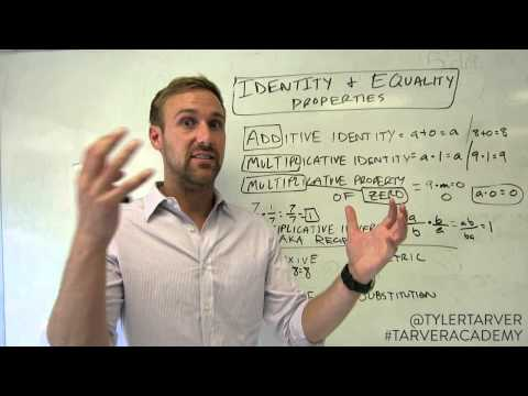 What is the Reflexive Property of Equality?
