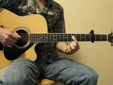 Stuck On You Lionel Richie Guitar Lesson Youtube