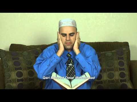 Surah Al-Furqan 58-70 by Qair Masood Omer Muhammad