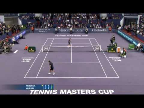 Masters Cup 08 Federer vs Murray (HL2)