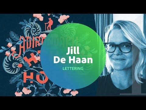 Live Lettering with Jill De Haan 1 of 3
