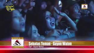 SEBATAS TEMAN - GUYONWATON LIVE ALON-ALON KOTA BLITAR 2019