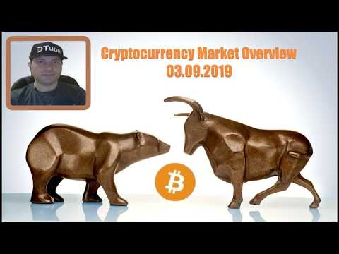 Cryptocurrency Market Overview | 03.09.2019 by @cryptospa