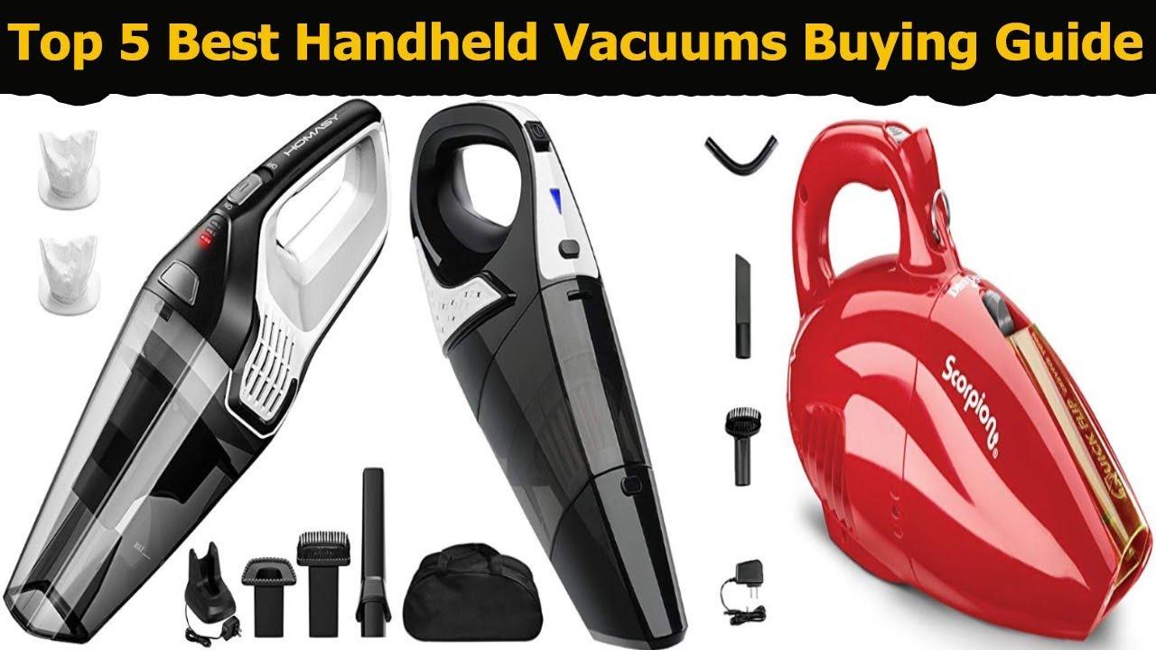 e765017edd6 Top 5 Best Handheld Vacuums In 2018