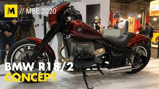 BMW R18/2 concept a Motor Bike Expo 2020