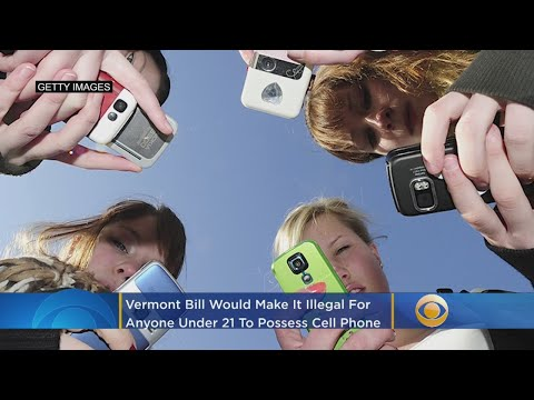 Sylvia Chacon - New Bill Could Ban Cellphone Use For Anyone Under 21!