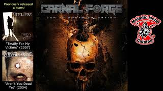 """Carnal Forge """"Gun To Mouth Salvation"""" (Full Album - 2019)"""