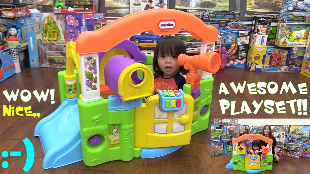 Toddlers PLAY HOUSE Playtime Fun Little Tikes Activity Garden