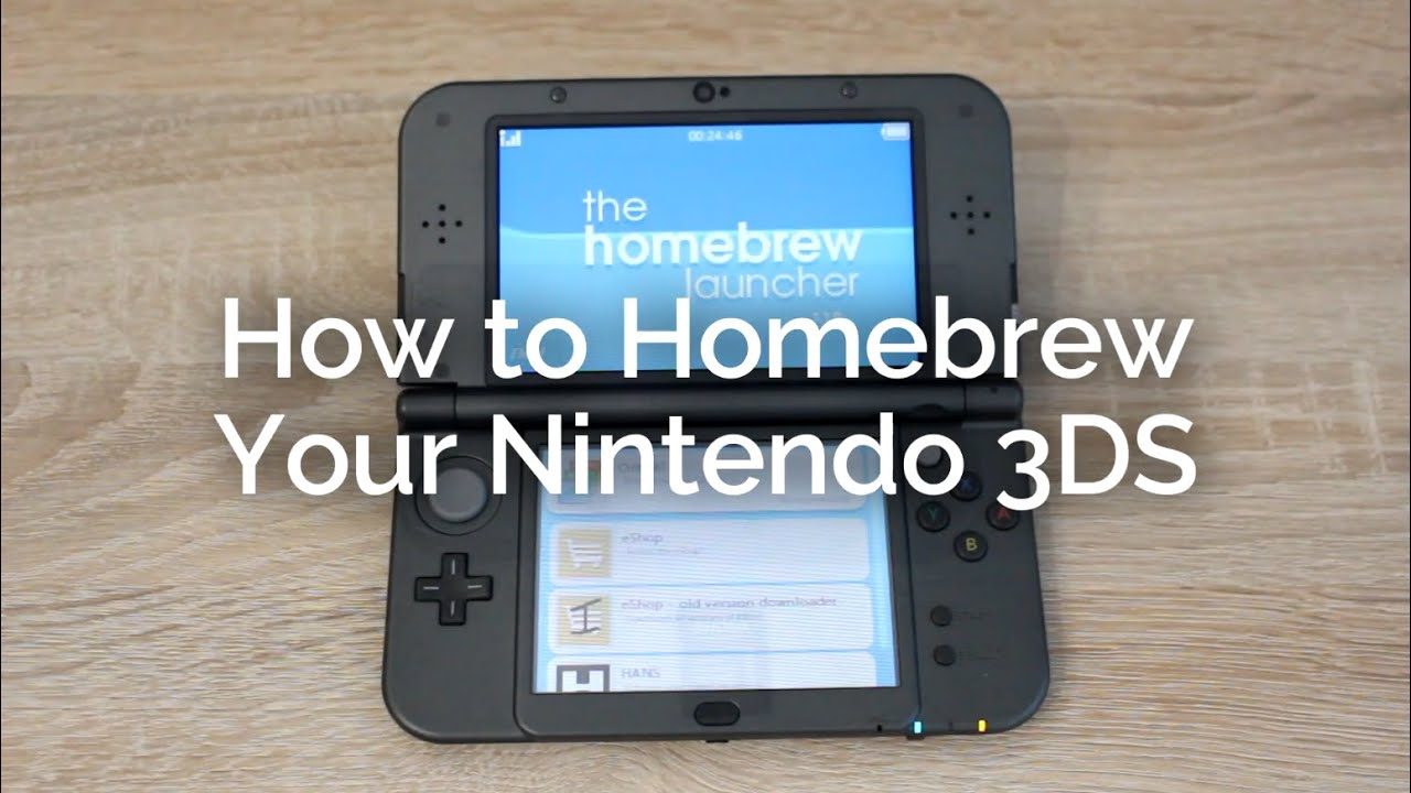 nintendo 3ds how to find firmware version