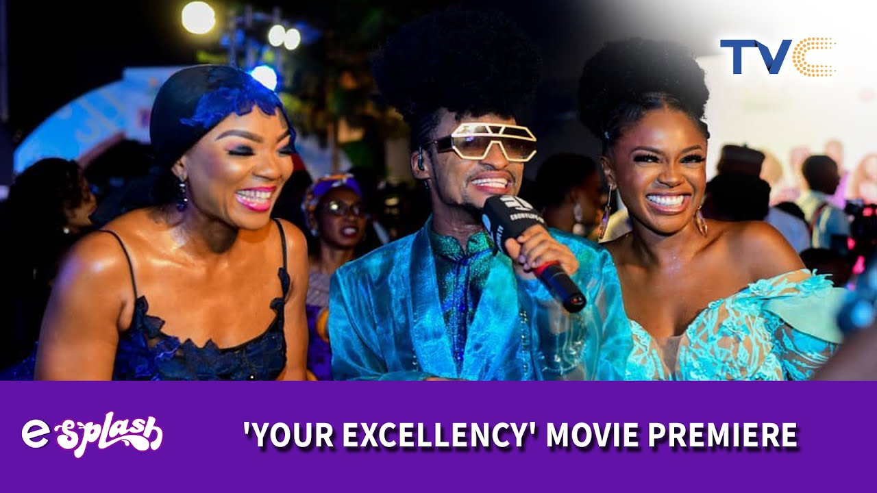 Download Glitz And Glamour At The Movie Premiere Of Mo Abudu's 'Your Excellency'