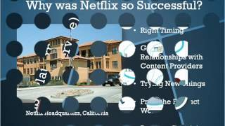 Netflix :- Online dvd movie rental service