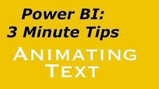 Güç Bİ - Animasyon Metin