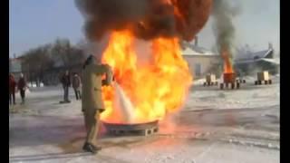 Огневые испытания огнетушителей 30 января 2012 года(Видеоотчет об огневых испытаниях порошковых огнетушителей. Всего испытаниям подверглись образцы наиболе..., 2016-12-18T12:22:03.000Z)