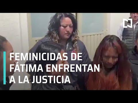 Traslado de presuntos feminicidas de la niña Fátima - En Punto