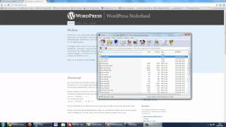 Wordpress installeren op pcextreme
