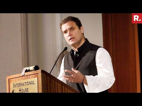 Rahul Gandhi's Full Speech At University Of California, Berkeley