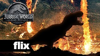 Jurassic World: Fallen Kingdom - Dinosaurs & Volcano Unveiled (2018)