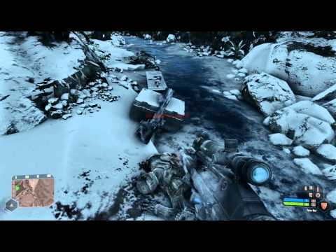 [4] Let's Play Crysis Warhead - Part 4 (Frozen Paradise)