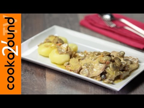 Arista di maiale con i funghi / Ricette secondi piatti di carne