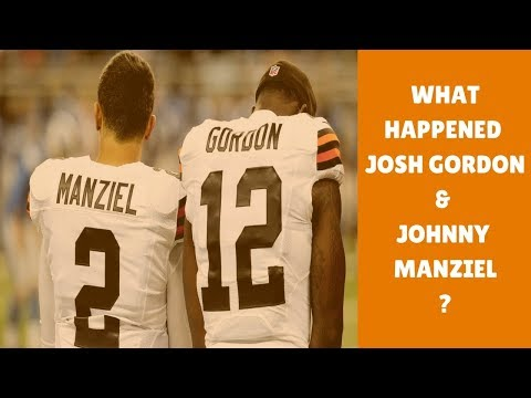 WHAT HAPPENED TO JOHNNY MANZIEL & JOSH GORDON   NFL STORIES