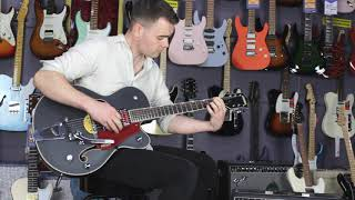 Gretsch Guitars | G5410T Rat Rod | Matte Black with Rowan Pattison | Music Junction