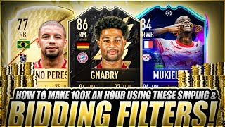 HOW TO MAKE 100K COÏNS NOW ON FIFA 22! EASIEST WAY TO MAKE COINS ON FIFA 22! BEST TRADING METHOD!