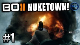 BLACK OPS 2 Zombies Nuketown! Ali-A LIVE Part 1! - Call of Duty: BO2 Nuketown Zombies Gameplay