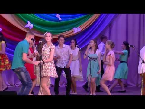Танец на выпускном 9В школа №2 Котельнич