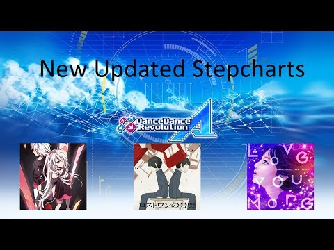 #Dance Dance Revolution Ace - New Update Charts 2