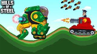 Hills Of Steel - New Tank KONG Walkthrough Game Android Gameplay screenshot 2