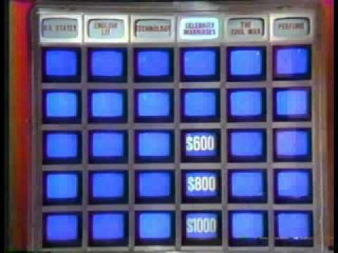 Jeopardy 1988 part 2