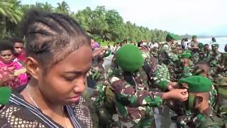 Mengharukan Putra asli Papua jadi Prajurit Infanteri