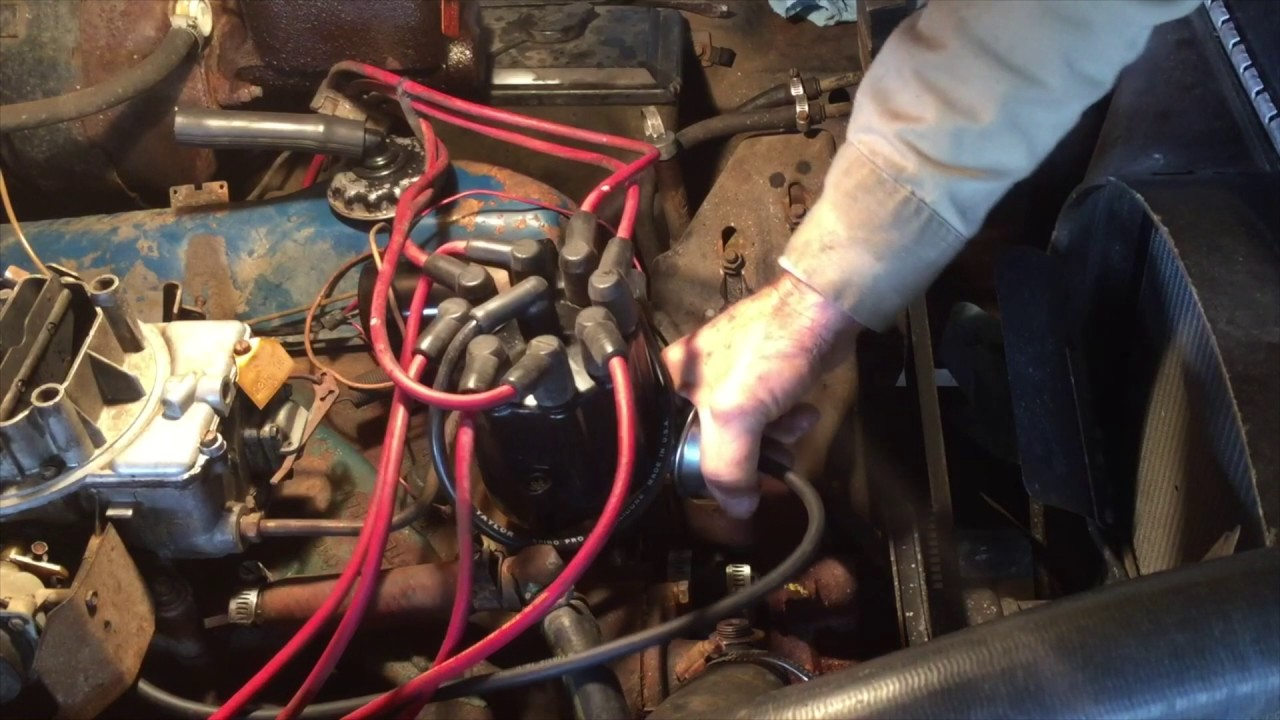 pertronix distributor flame thrower ii install ford 360 1972 wiring pertronix distributor ford [ 1280 x 720 Pixel ]