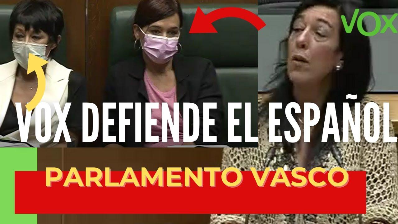 🤫¡¡EMOCIONANTE!! ⚡️DEFENSA DEL ESPAÑOL / VOX en el PARLAMENTO VASCO y zasca al PP.