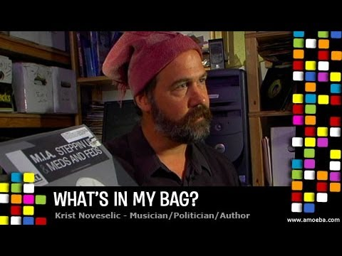 Krist Novoselic  What's In My Bag?