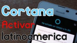 Como activar CORTANA EN LATINOAMERICA en Windows 10 Mobile