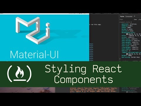 Styling react components p2d30 live coding with jesse youtube styling react components p2d30 live coding with jesse malvernweather Gallery