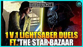 Gambar cover 1v1 Lightsaber Duels FT. @The Star Bazaar - Star Wars Battlefront 2