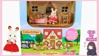 Calico Critters | Red Roof Cozy Cottage Starter Home